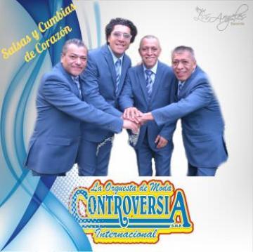 LA ORQUESTA DE MODA CONTROVERSIA INTERNACIONAL - Salsa y Cumbias del Corazón (2018)