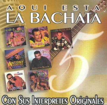 Va - Aqui Esta la Bachata Vol 5 (1999) CD Completo
